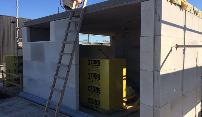 PRo Boddenkamp: de dakvloer is gereed