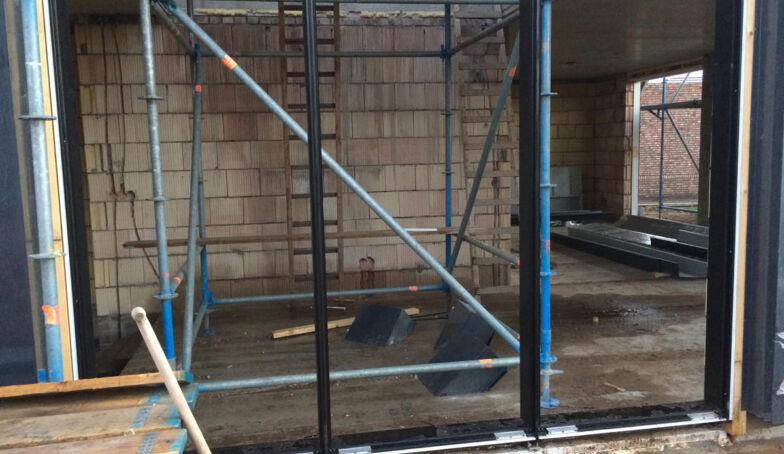 Schuurwoning LuDi Brunink Buitenveld Enschede: voortgang op de bouw
