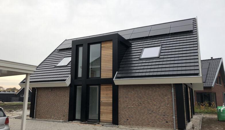 De woning van Luuk en Dineke is opgeleverd en staat er super bij!