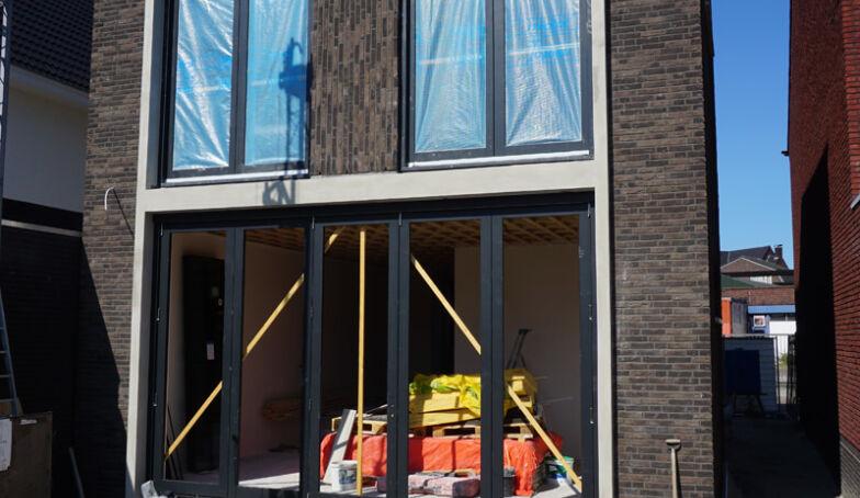 Een paar bouwvakfoto's van de bouw van het Heerenhuys Boddenkamp!
