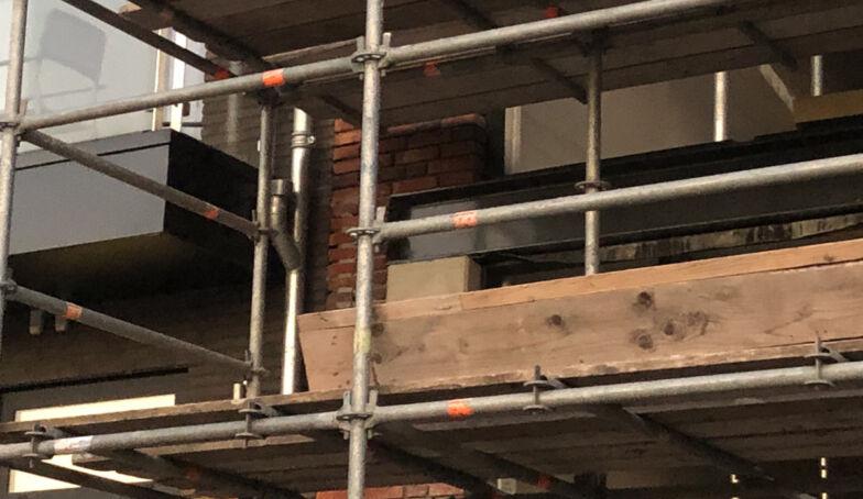 Nieuwe foto's vanaf de bouw van The Hoff aan de Lonnekerspoorlaan!