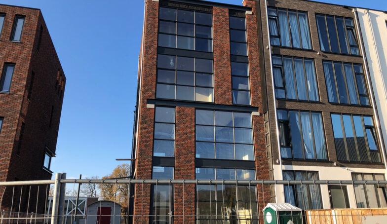 The Hoff aan de Lonnekerspoorlaan te Enschede nadert zijn voltooiing!