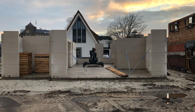 Voortgang van de bouw op kavel 5 van De Melkhal Enschede!