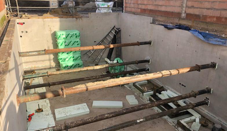 Nieuwe foto's van de bouw van het Statenpand E1 op de Melkhal Enschede!