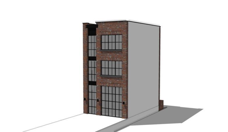 Stadsbouwmeester positief over het ontwerp voor het Statenpand B4 op de Melkhal Enschede!